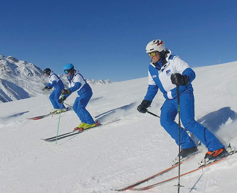 TOP Hochgurgl ski school - Get into shape with ski and fun