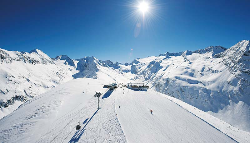 Obergurgl-Hochgurgl ski resort - a luxury skiing holiday in one of the world's 10 best ski resorts